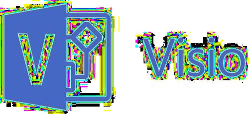 Icono MS visio